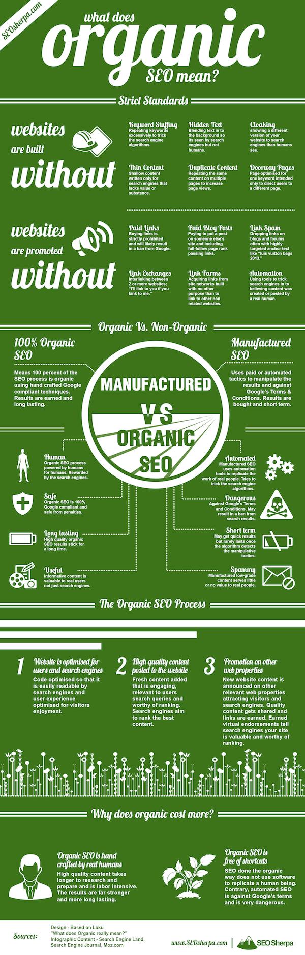 infografia SEO Orgánico