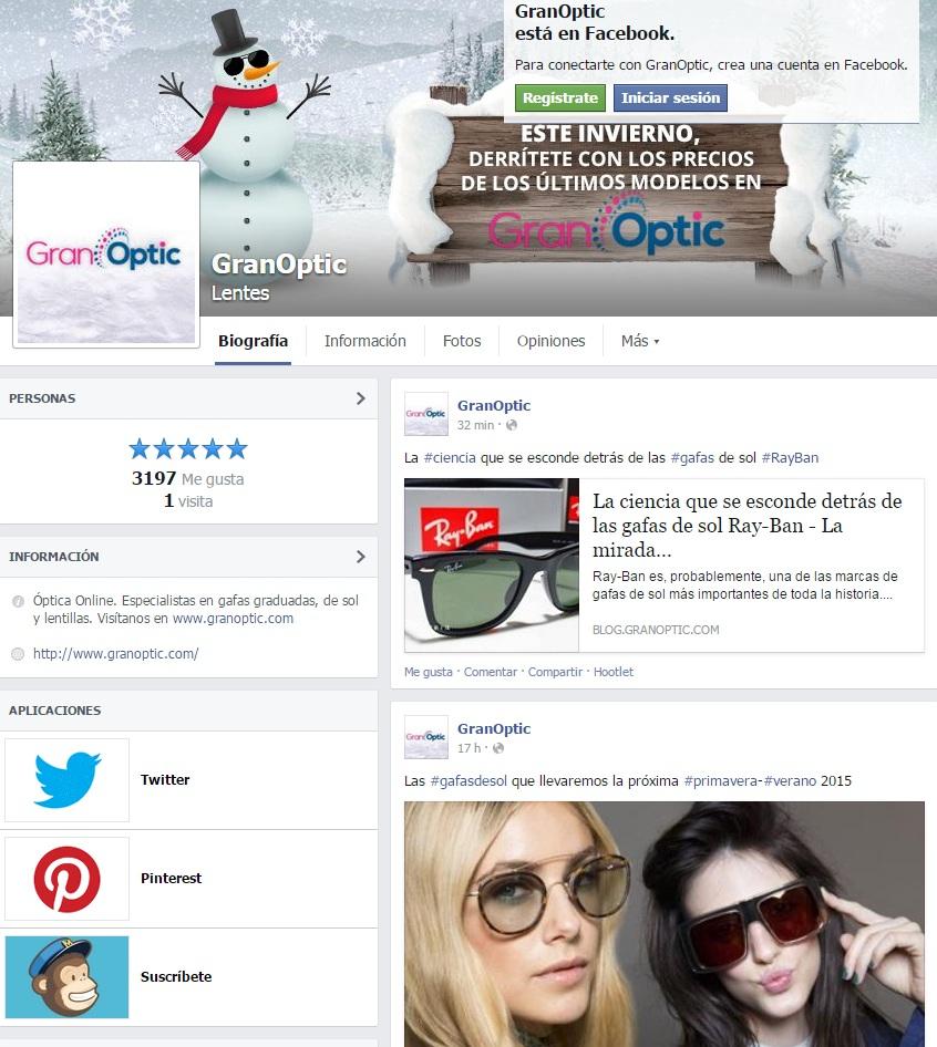 Facebook GranOptic