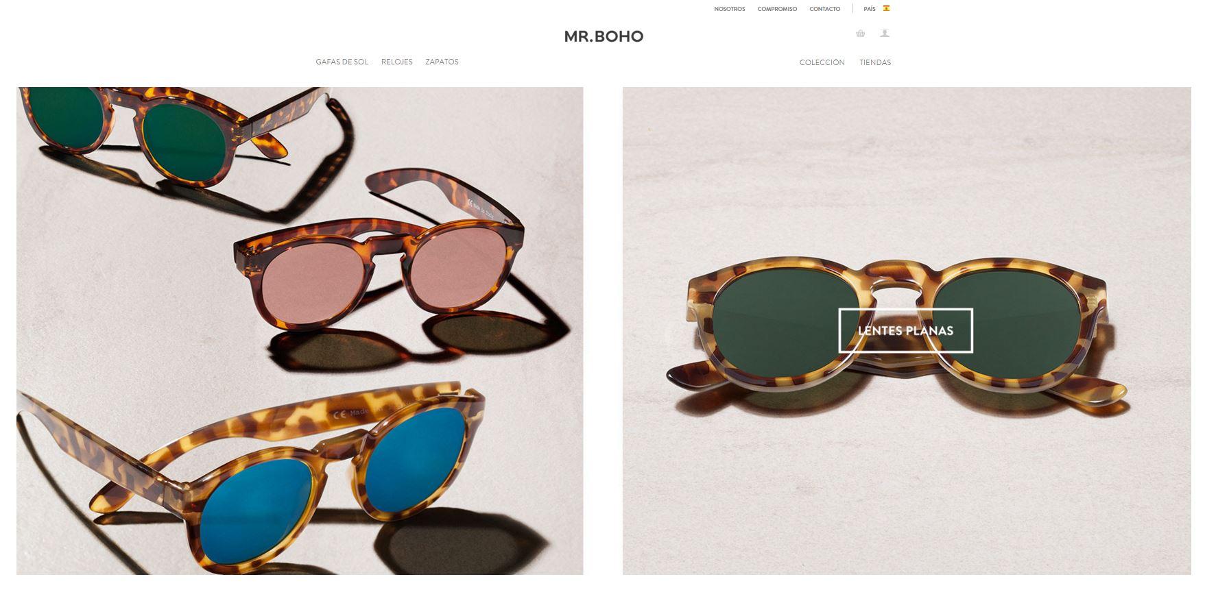 Página web de Mr.Boho