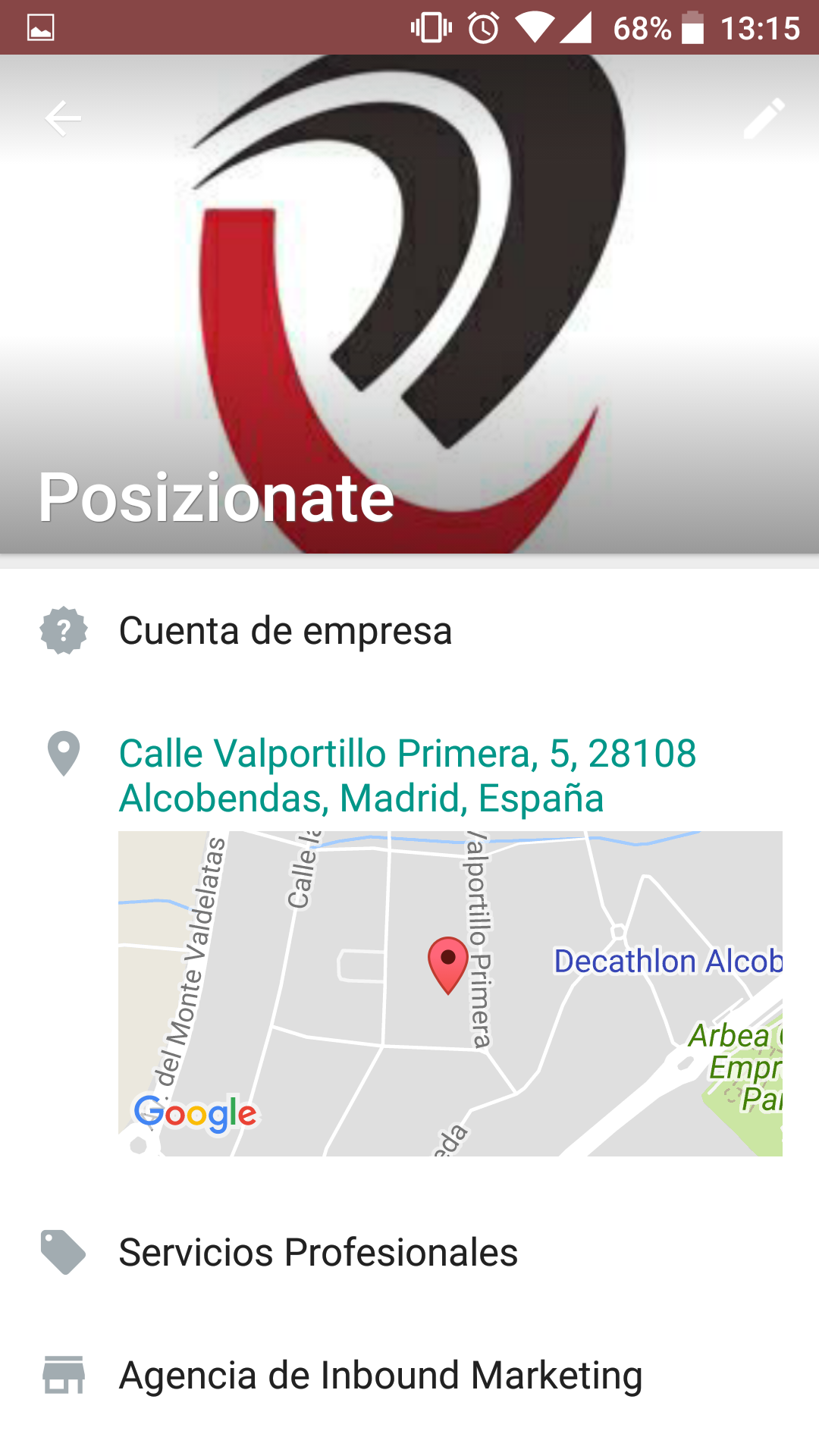 Perfil de empresa WhatsApp Business