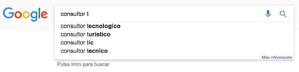 ejemplo de búsqueda consultoria