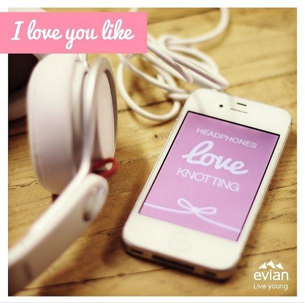 #Iloveyoulike de Evian