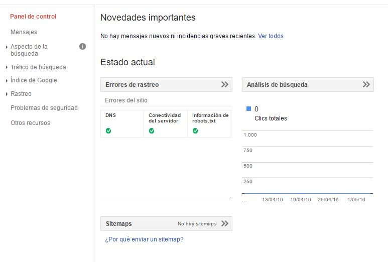 Google Search Console una de las mejores herramientas SEO